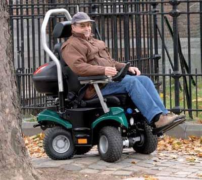 שונות כסאות גלגלים ממונעים מותאמים לתנאי שטח BU-13
